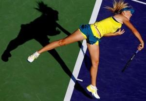 Sharapova-Serve
