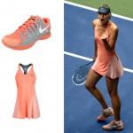 Tennis Fashion Fix - 2013 US Open Maria Sharapova Day Dress Look