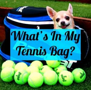 Tennis Fixation Gear Bag Equipment Puppy