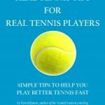 Real Tennis Tips - Book Cover
