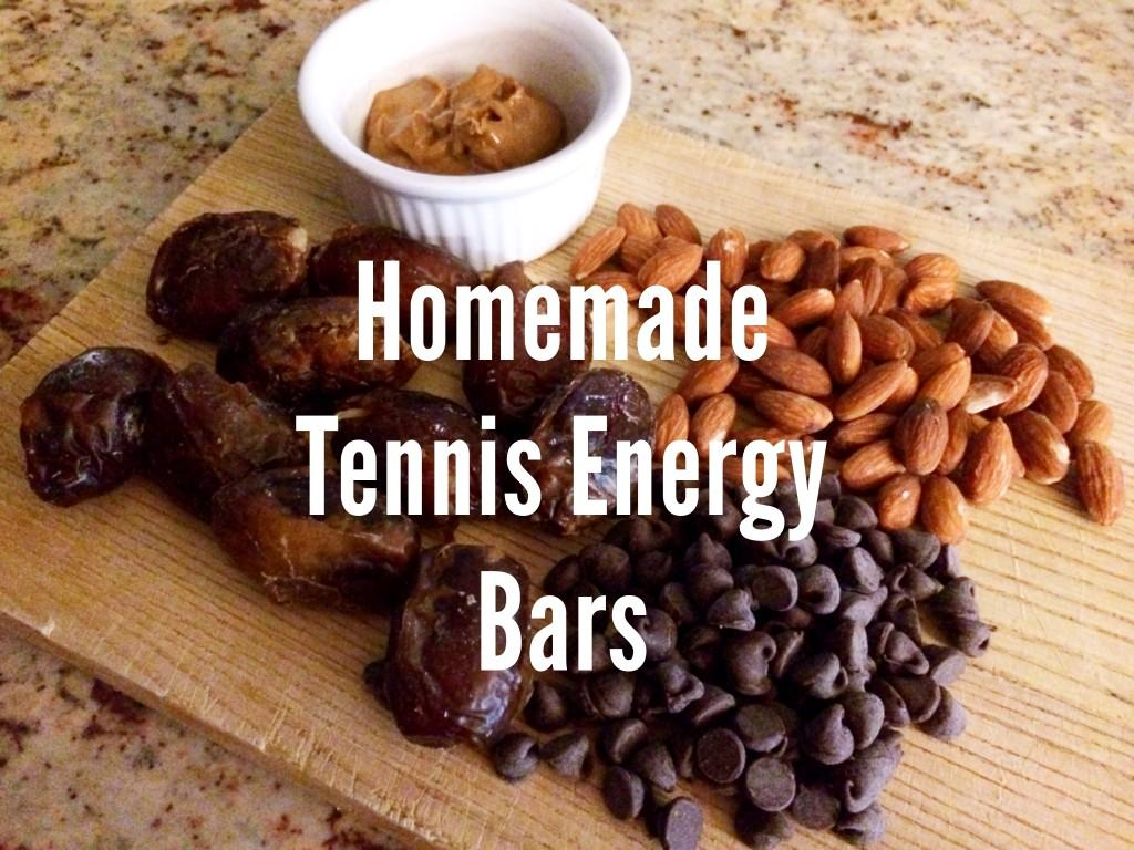 Healthy Homemade Tennis Energy Bars Recipe