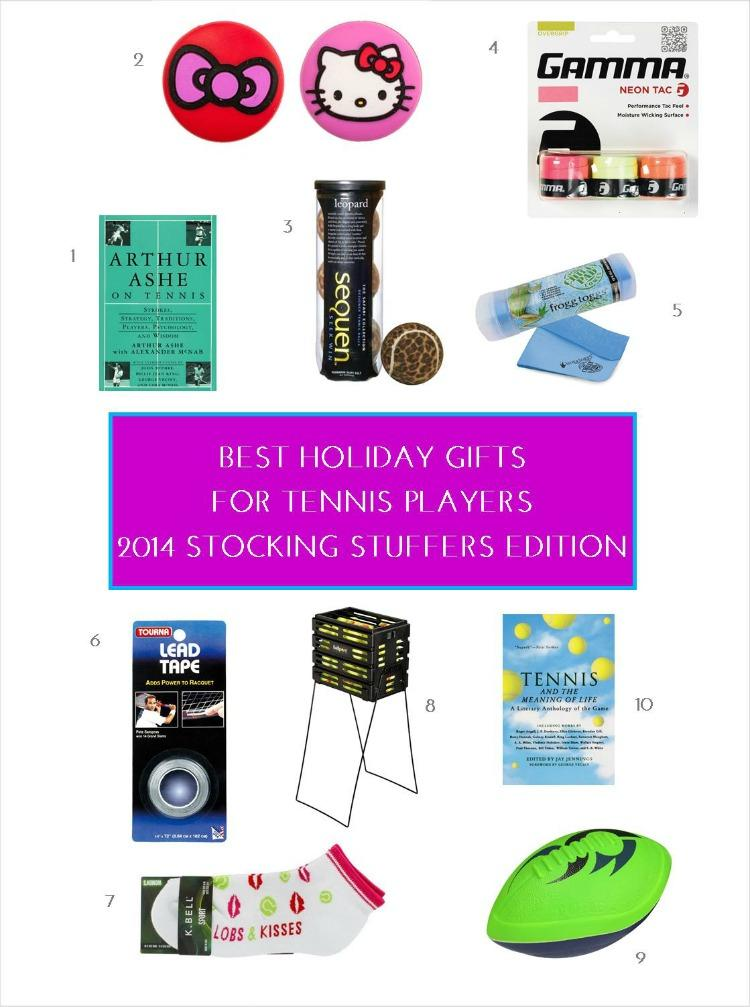 Best Holiday Gifts for Tennis Players - 2014 Stocking Stuffers