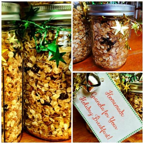 Healthy Homemade Granola Recipe with Tags