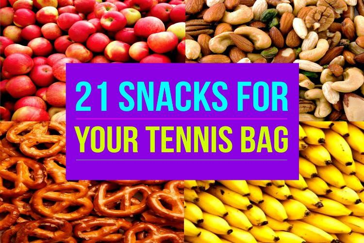 21 Snacks For Your Tennis Bag