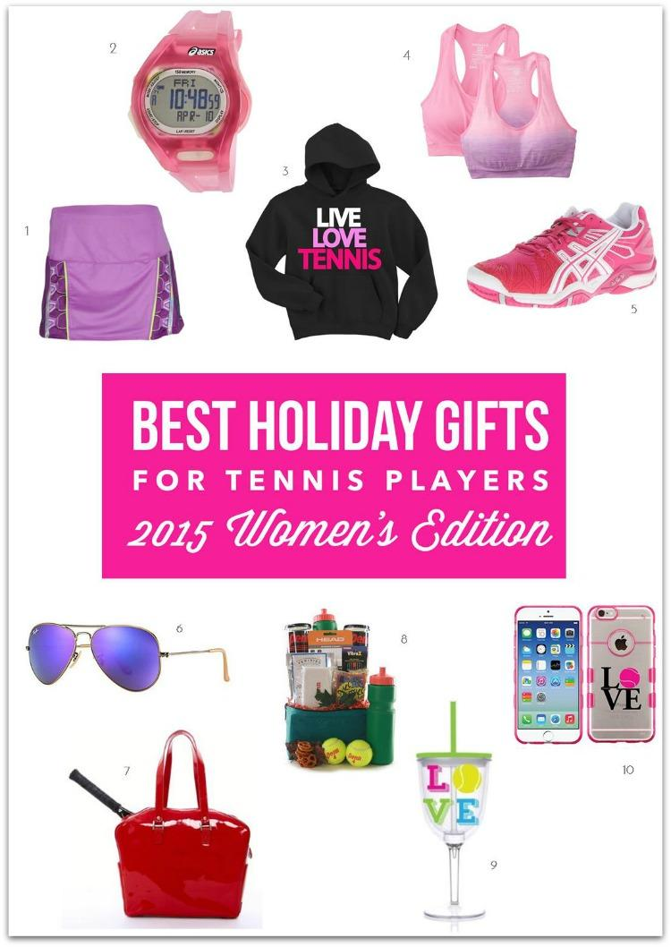 Best Holiday Gifts For Tennis Players 2015 Women S Edition