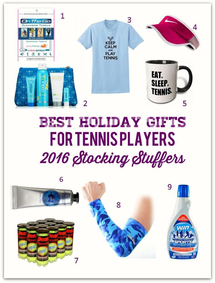 Best Holiday Gifts For Tennis Players 2016 Stocking Stuffers