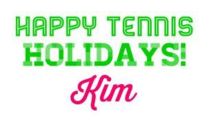 Happy Tennis Holidays - Kim
