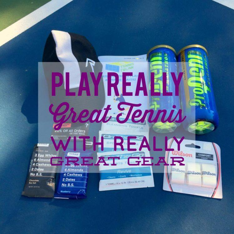 Play Really Great Tennis with Really Great Gear from Tennis Trunk